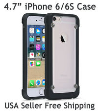 "SUPCASE For iPhone 6/6S 4.7"" Unicorn Beetle Hybrid Protective Case Black Frost"