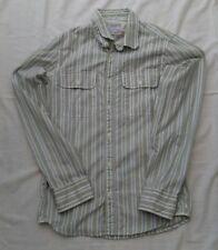 Mens Fat Face Stripe Long Sleeve Shirt Size XXS Chest 32''