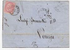 U512-VITT.EM.II°-40 CENT DLR DA NAPOLI A VENEZIA 1864