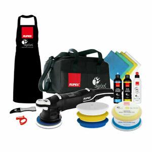 Rupes LHR15 Mark III Polisher Complete Kit Bigfoot Buffer Bag Pads Polish Combo