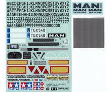 Tamiya 319495822-sticker MAN TGX 18.540 dis. II-nuevo