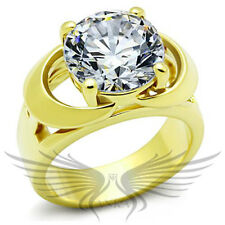 Sim Diamond Ring Wedding Tk1409 Round Solitaire Engagement Russian Lab Created