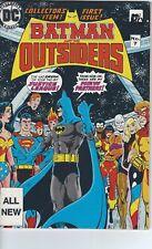 Australian Edition BATMAN and the OUTSIDERS #1 DC Comics Presents #7