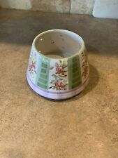 HOMCO - Home Interiors - Floral Flowers Jar Candle Topper Shade -  New