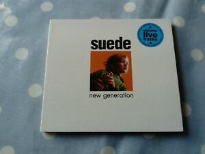 Suede New Generation /Live Limited Edition 4 Track Digipak CD
