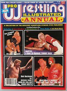 Vintage Magazine Pro Wrestling Illustrated Annual Spring 1983 New PWI