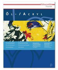 Hahnemuhle Oil & Acrylic Paint Blk 9.5X12.5 I
