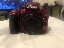Nikon D3300 24.2 MP Digital SLR Camera - Red (Body Only)