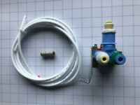 Whirlpool W10408179 Refrigerator Water Valve With Hose and Fitting Robertshaw
