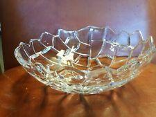 "New listing Villeroy & Boch Kodiak 11"" Textured Glass Bowl Excellent"
