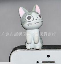 Cute Chi's Sweet home Cat Cell Phone Earphone Anti dust Jack plug toy cap Kawai