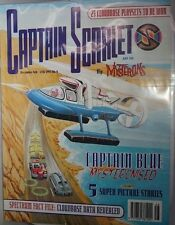 Captain Scarlet and The Mysterons Comic Issue 3 From 1993 - With Badge
