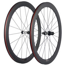 50mm Carbo Road Wheelset DT Swiss 350 Hub UD Carbon Weave Matte Finish No Decal