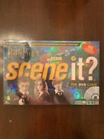 NIB Harry Potter 2nd Edition Scene It The DVD Board Game Factory Sealed Package