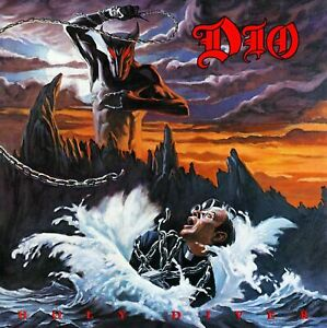 DIO Holy Diver BANNER HUGE 4X4 Ft Fabric Poster Tapestry Flag album cover art