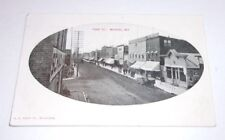 Front Street Medford Downtown View Wi Antique Postcard   T*