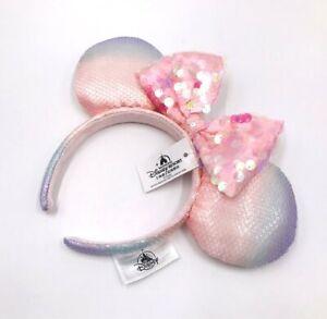 Sakura Pink Shanghai 2020 Minnie Ears Disney Parks Rare Edition Resort Headband