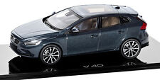 wonderful PR-modelcar VOLVO V40 2016 - denim blue - scale 1/43