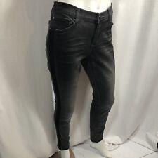 DKNY Womens Size 6 City Skinny Black Jeans Jeggings Stretch Fading