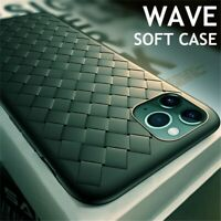 Shockproof Slim Weave Soft TPU Silicone Case Cover For phone 11 Pro Max XS XR