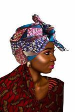 "SALE - KENTE Extra Long 72""×22"" Headwrap ANKARA Dashiki African Print Head Wraps"