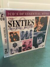 New The Sixties Original Artist 2 CD Set Factory Sealed
