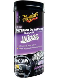 Meguiars Quick Interior Detailer Wipes (G13600)