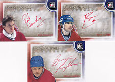 11-12 ITG Rick Wamsley Auto Forever Rivals Autograph 12-13
