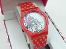 """MINNIE MOUSE,Disney,""""Great Gift!"""" LADIES/KIDS WATCH,New In Box!! R16-19 L@@K!"""