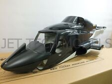 FUNKEY Scale fuselage AIRWOLF .50 (600) size Black Color with INSTRUMENT PANEL