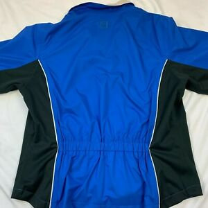 Dryjoys Footjoy Peninsula Club NC Windbreaker Womens Jacket Size Medium EUC