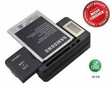 Lot of 10 Universal Mobile Phone Battery Desktop Charger With USB Port & LCD