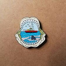 Jaws Movie Shark/Boat Pin
