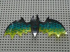 LEGO Plastic Wings with Black and Dark Turquoise Bat Pattern Ref 38470/Set 41195