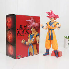 DRAGON BALL SUPER : Goku Super Saiyan God figur 24cm goku SSG anime figure