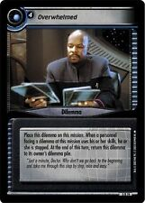 Star Trek CCG 2E Call To Arms Overwhelmed 3R19