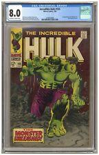 Incredible Hulk 105 (CGC 8.0) 1st app. Missing Link; Reed Richards cameo (j#6583