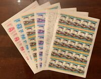 Stamp Grenadines of Saint Vincent Proof Sheets 1980 High Speed Train Set MNH