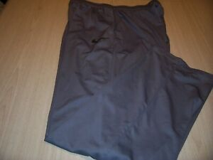 NIKE DRI-FIT GRAY ATHLETIC PANTS MENS 4XLT EXCELLENT CONDITION
