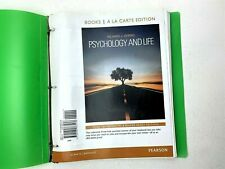 Psychology and Life, Books a la Carte Binder Edition by Richard J. Gerrig 2013