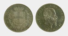 156) Vittorio Emanuele II Re d'Italia (1861-1878) - 5 Lire 1876 ROMA
