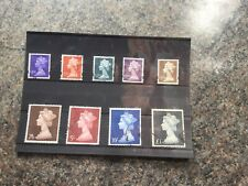 GB High Value Definitives - Used