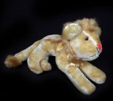 "Vintage Jay Bee Joseph Boxer Small 8"" Mohair Lion Glass Eyes"