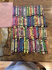 100 Used Crayons Variety Colors & Brands
