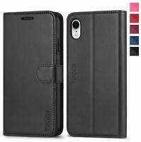TUCCH iPhone XR Case, iPhone XR Wallet Case[RFID Blocking][Wireless