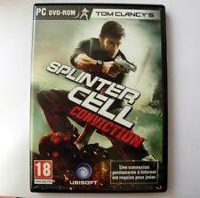 SPLINTER CELL CONVICTION - jeu PC -Version Francaise / French version. PC game.