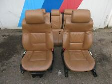 BMW E39 Touring Leder Ausstattung Naturbraun Komfort Sitze vorne Rücksitzbank