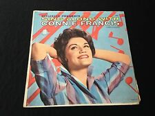 Sing Along With Connie Francis Lp Record
