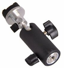 Off Camera Flash Swivel Tilting Bracket/Umbrella Holder for Nikon, Canon Mount F