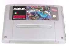 Spiel: TURTLES IV TURTLES IN TIME für SNES Super Nintendo